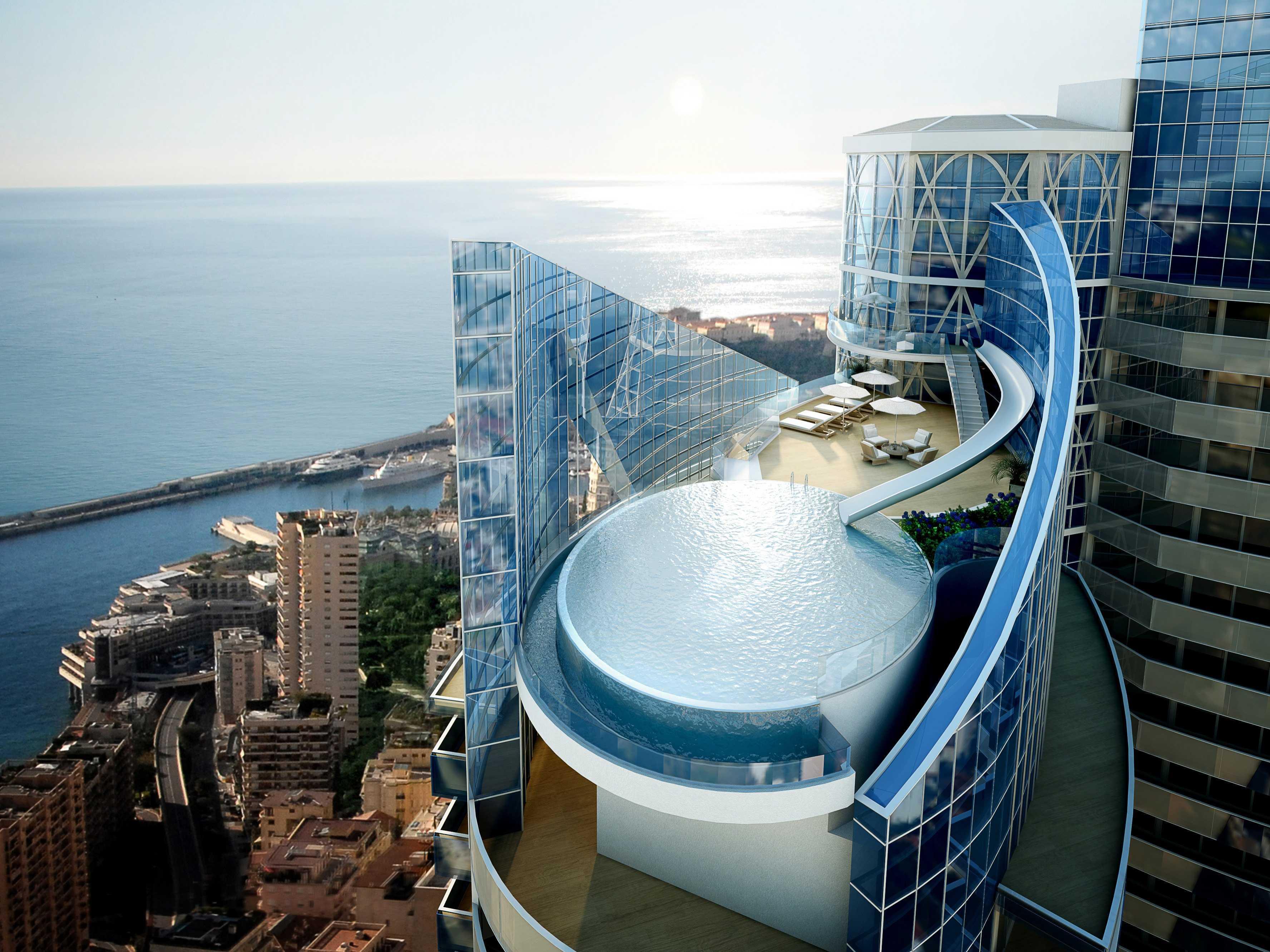 monaco penthouse concept could hit the market for 280 million